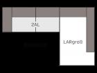 Ecksofa Longchair groß R