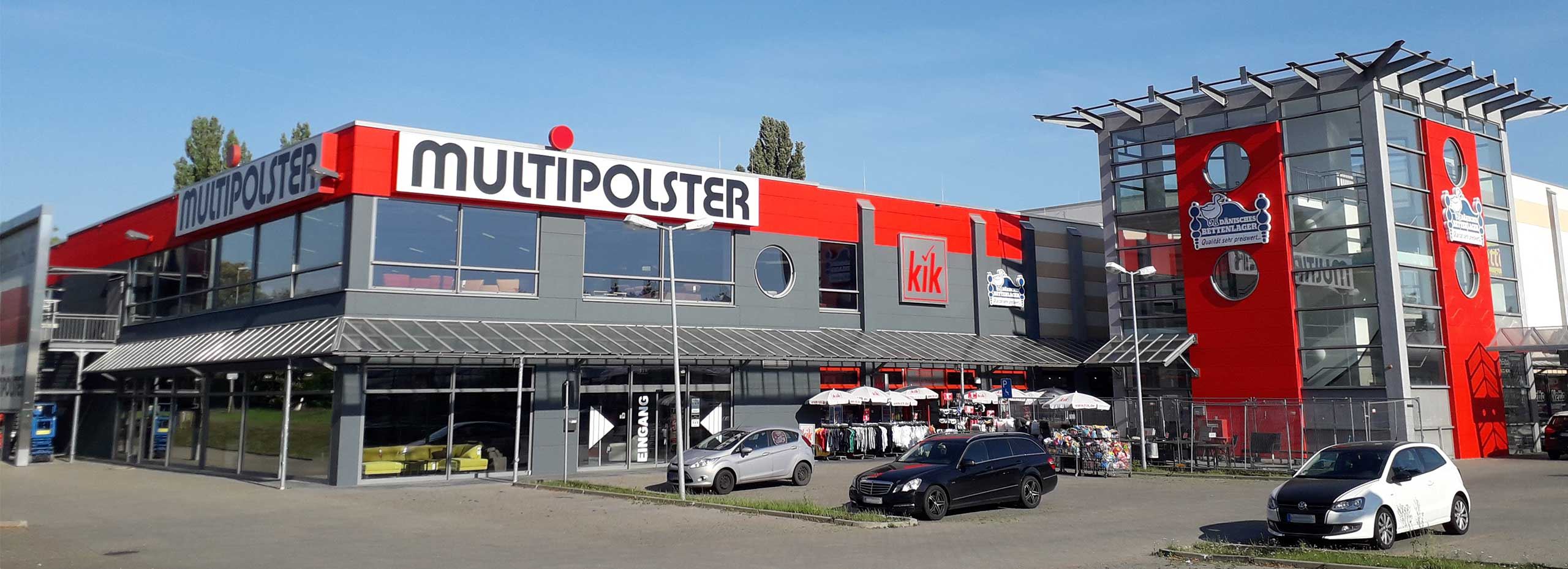 Multipolster - Magdeburg am Bördepark