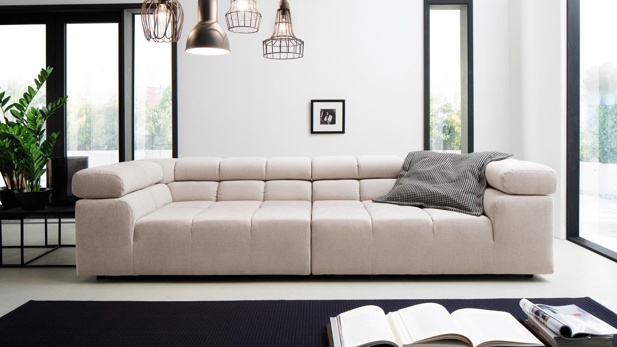 Camara Sofa Garnitur Beige