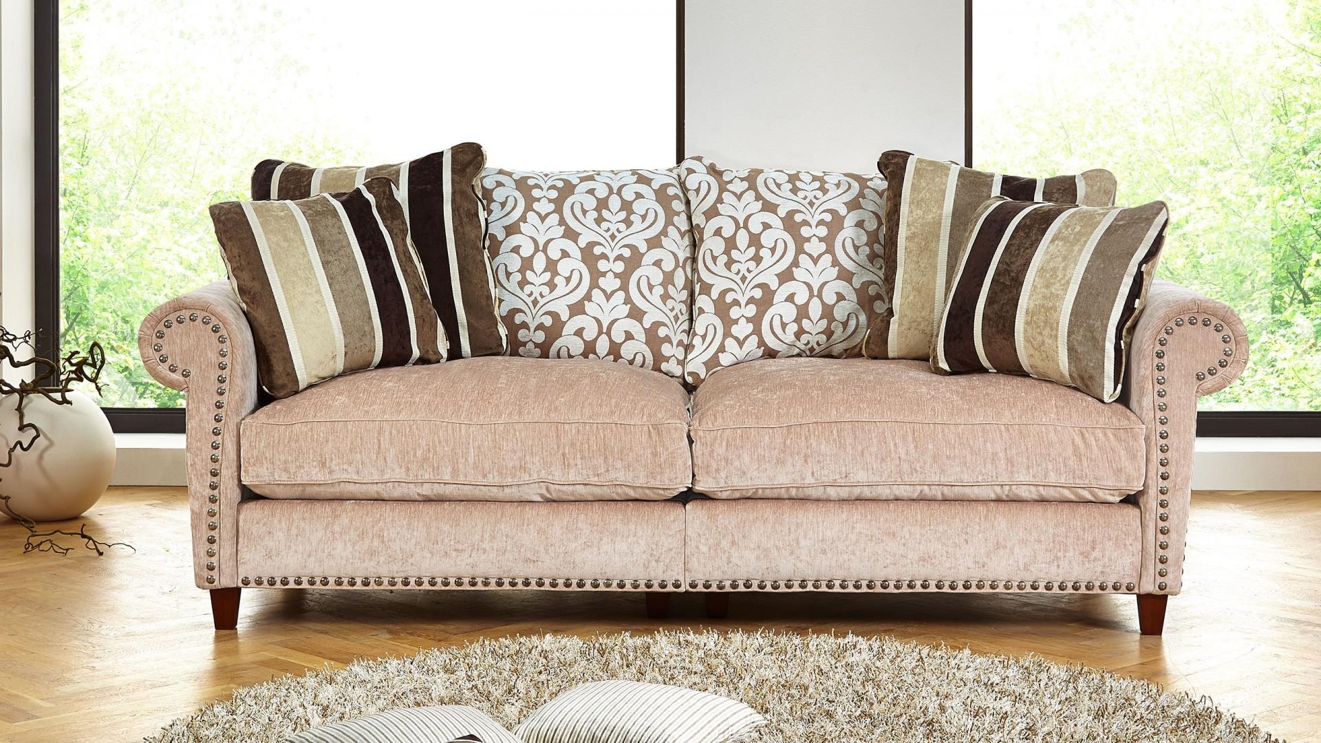 Opal Sofa Stoff Beige