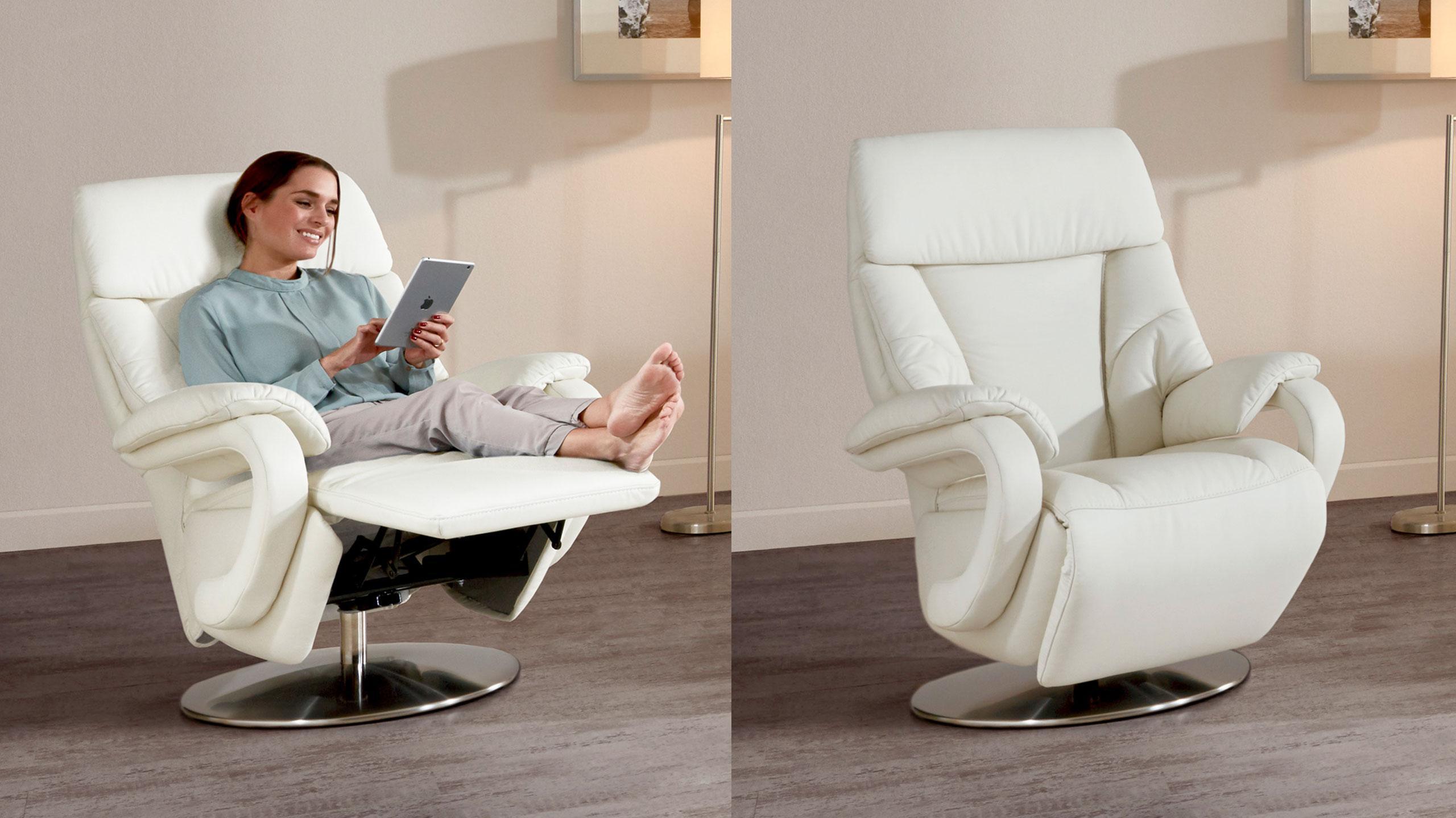 meran sessel leder weiss tv sessel sortiment multipolster. Black Bedroom Furniture Sets. Home Design Ideas