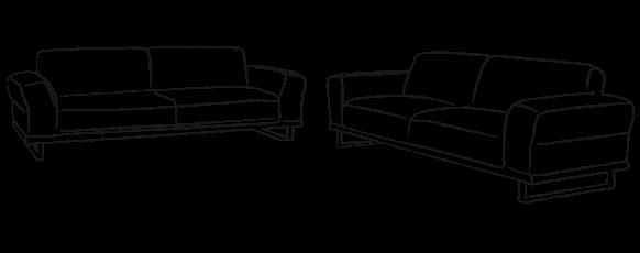Sofa Garnituren | Sofas | MULTIPOLSTER