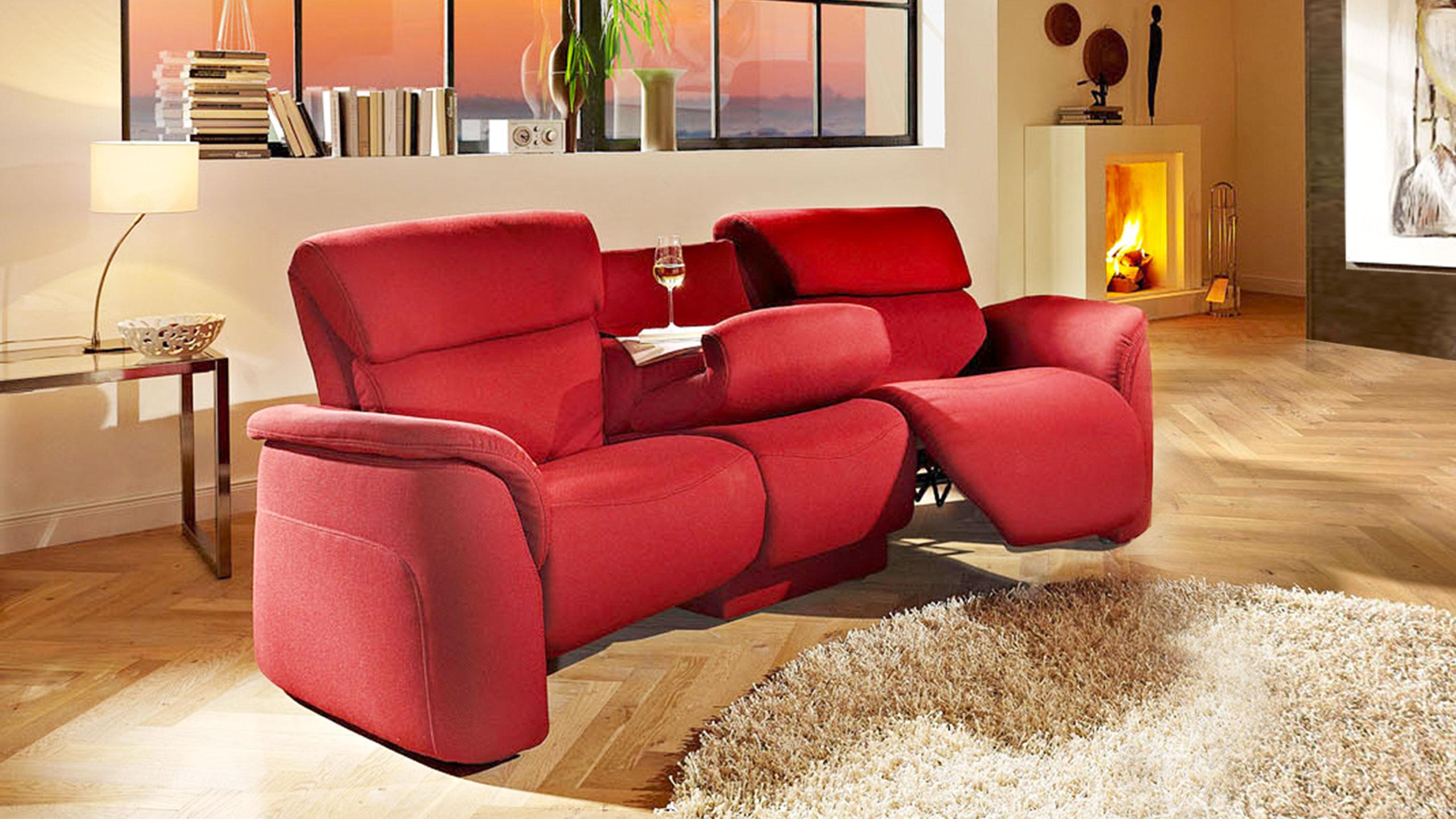Novara Sofa Stoff Rot
