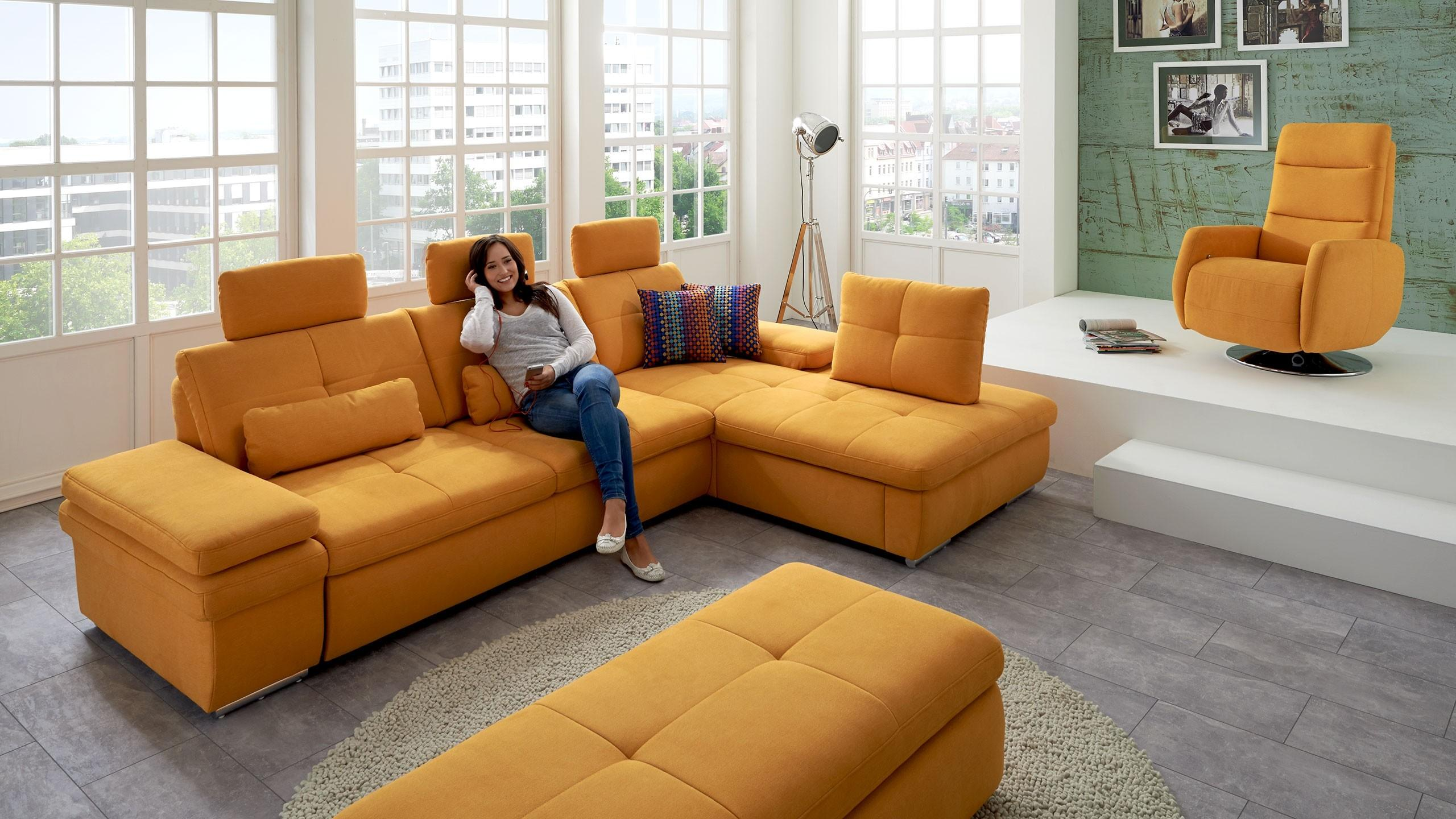 SC smart 1021 Hocker Orange